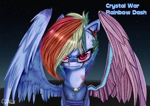 Crystal War Rainbow Dash