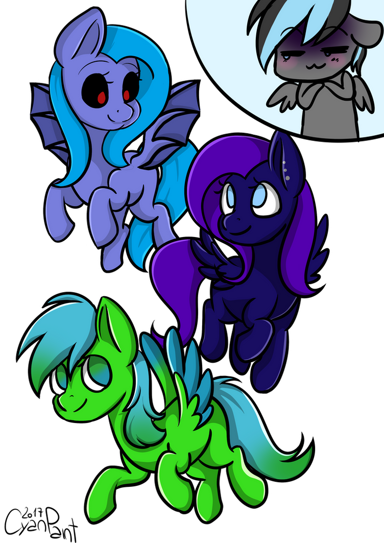 (Gift) for some of my Inspirations :D by wolfchen999