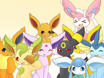Eeveelutions by PKM-150
