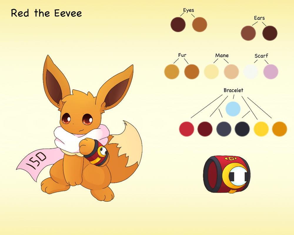 Red (Speed) the Eevee by PKM-150