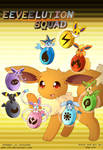 Eeveelution Squad (Second cover) by PKM-150