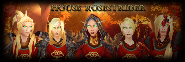 House Rosestrider by AprylFools