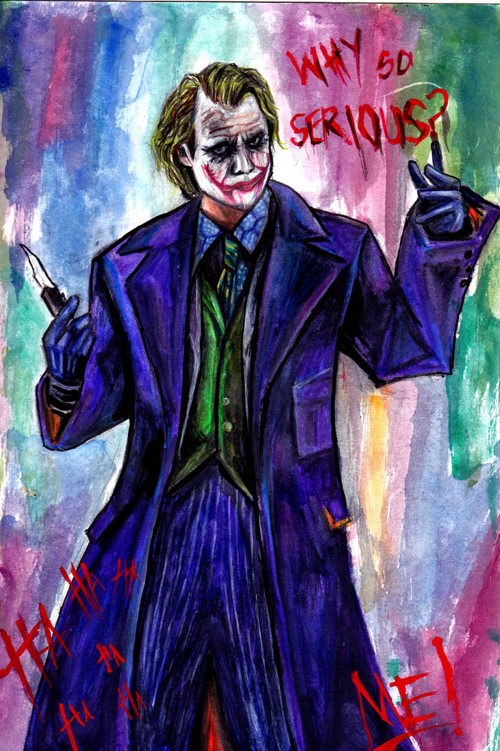 The Joker by BreakfastTears