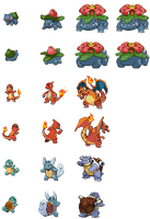 Pokemon Movie 1 - Clone Sprites Updated by EmmaRoak