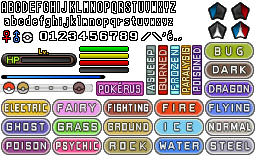 Pokemon X and Y - Text / Graphic Rip