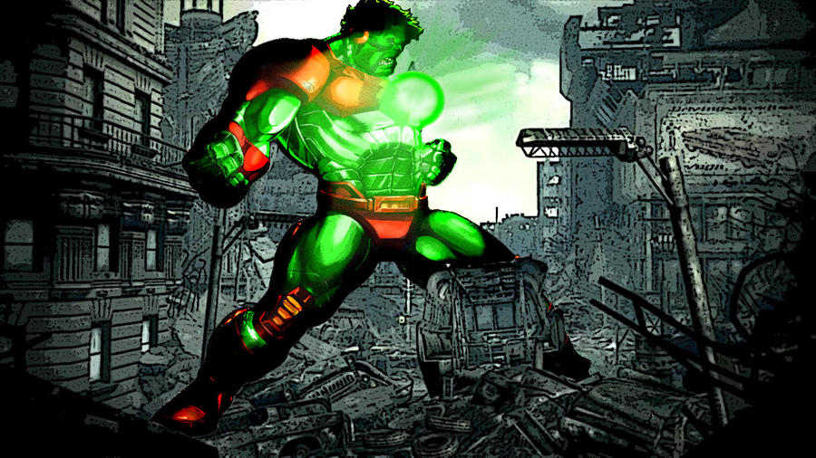 Iron-Hulk by MehraanKhanIron Hulk