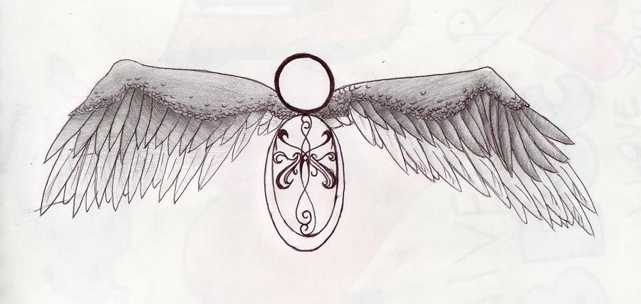 wing tattoo