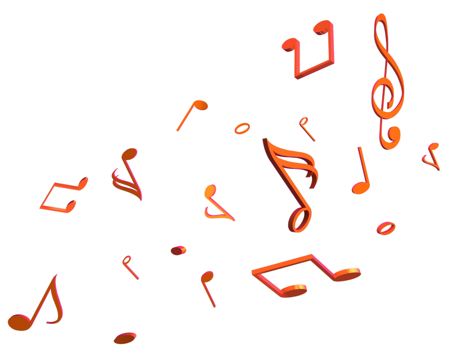 Png Hd Musical Notes Symbols Transparent Hd Musical Notes: Music Notes Render By Taz09 On DeviantArt