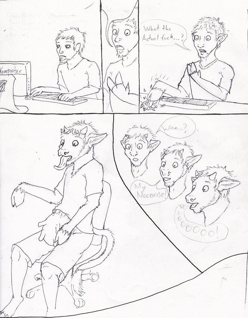 Cow TF Comic - WIP by RaKooNZacK