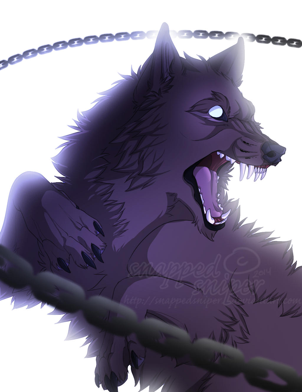 Fenrir by snappedsniper