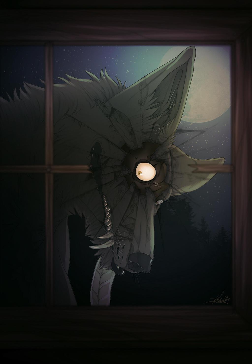 A Peek Through Glass by spookycoin