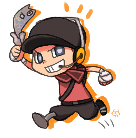 Team Fortress2 Scout By Yhe306 On Deviantart