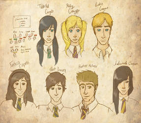 My Lil' Hogwartians by kitain