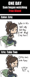 DAMMIT ERIC by kitain