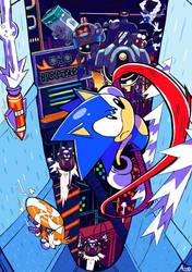 STUDIOPOLIS (Sonic Mania) by azoosart