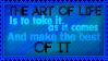 The Art of life by SavannaH09