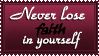Never lose..... by SavannaH09
