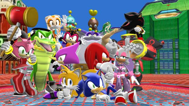 [Sonic MMD] Sonic Heroes
