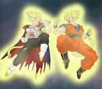 Goku vs Vegeta - Final Conflict - SSJ