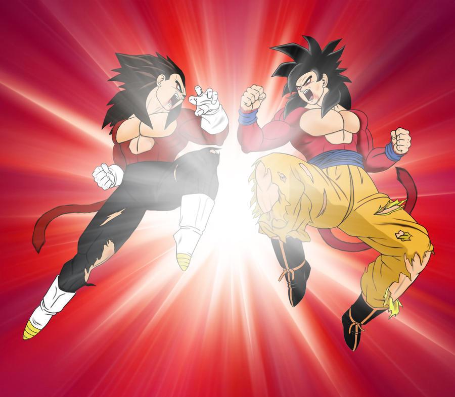 Goku vs Vegeta - Final Conflict - SSJ4 by odinforce23 on ...