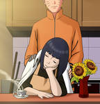 NaruHina - Kitchen