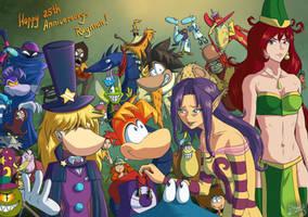 Rayman 25th Anniversary