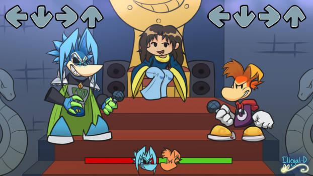 Rayman x Friday Night Funkin