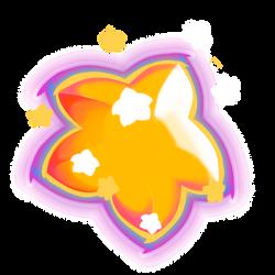 Warp star by Lithium-Polygon