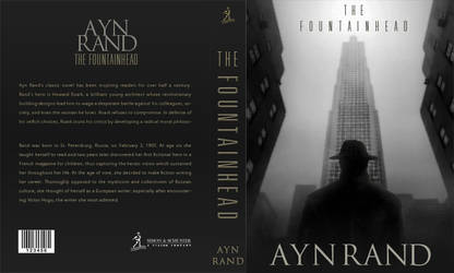Fountainhead Book Cover by armaan