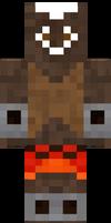 Shakura minecraft skin by Vyctorian