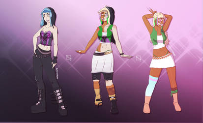 Jade to Ganguro CMSN Sequence by Vyctorian