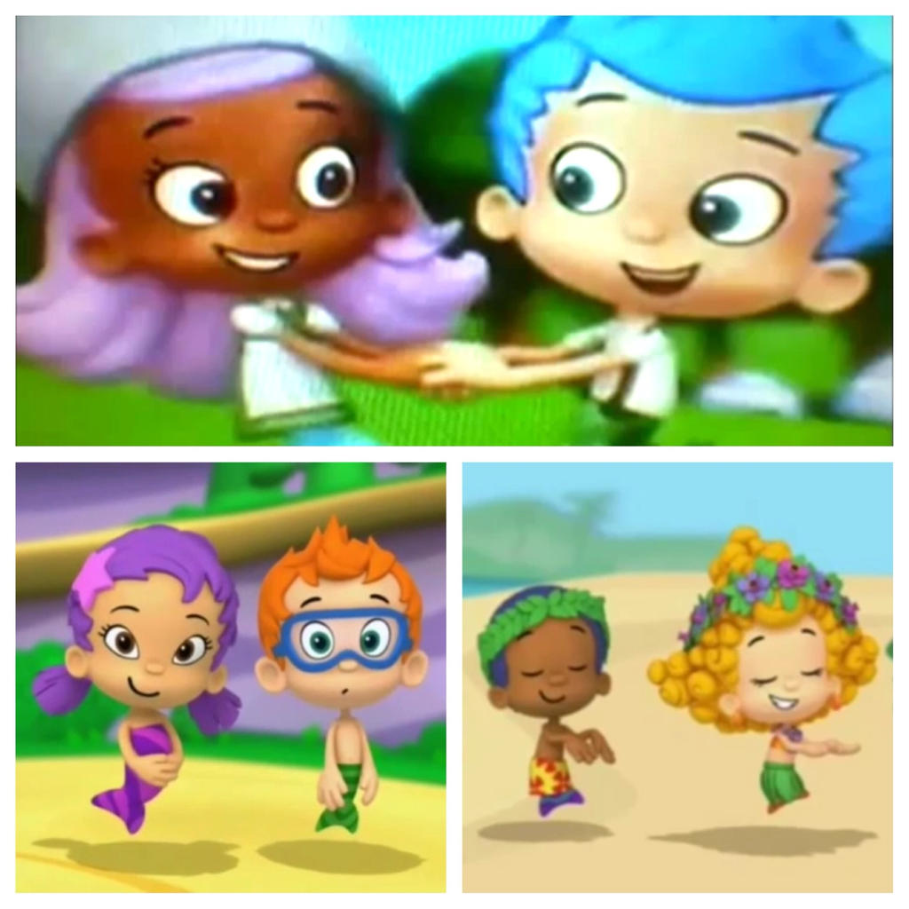 bubble guppies molly and gil by bigpurplemuppet99 on deviantart
