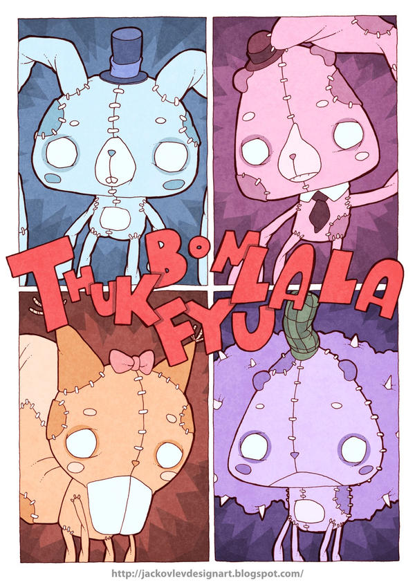 Thuk-Bom-Fyu-LaLa in color by lost-angel-less
