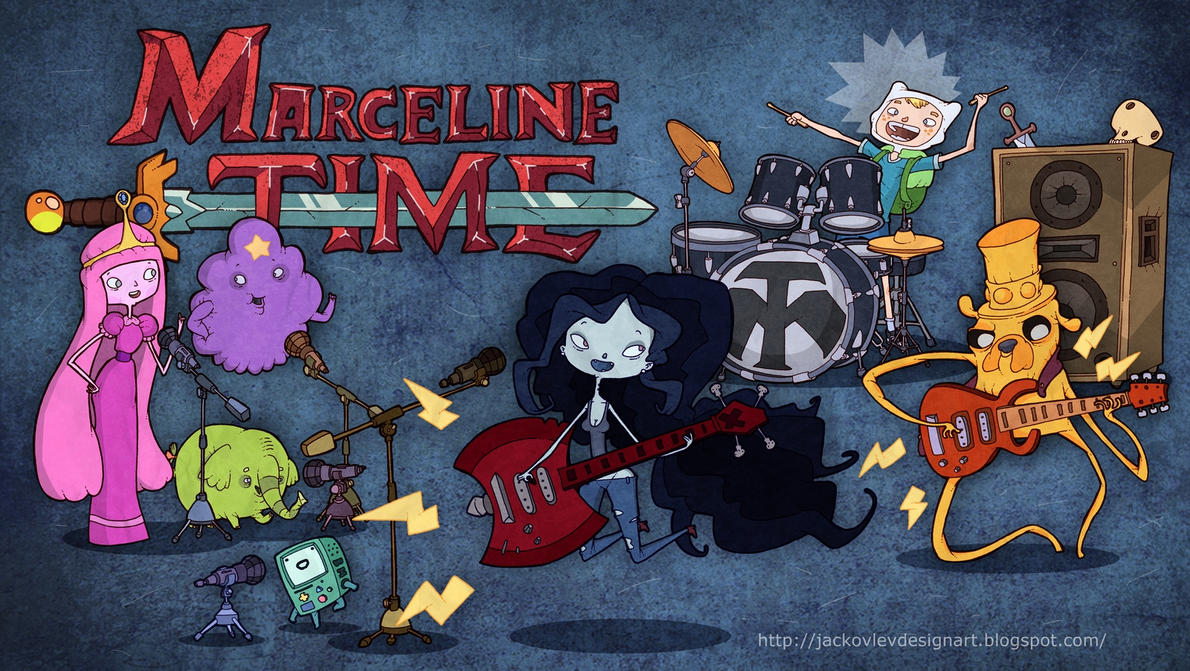 Marceline Time by lost-angel-less