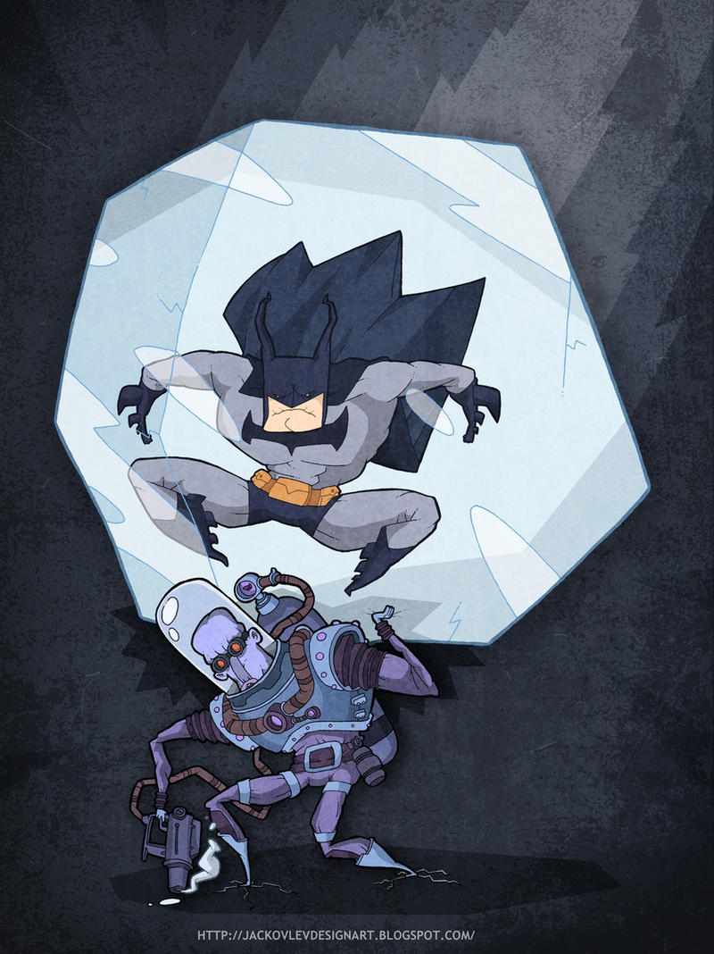 Batman and Mr.Freeze by lost-angel-less