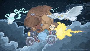Volan-de-Mort and heavenly motorcycle