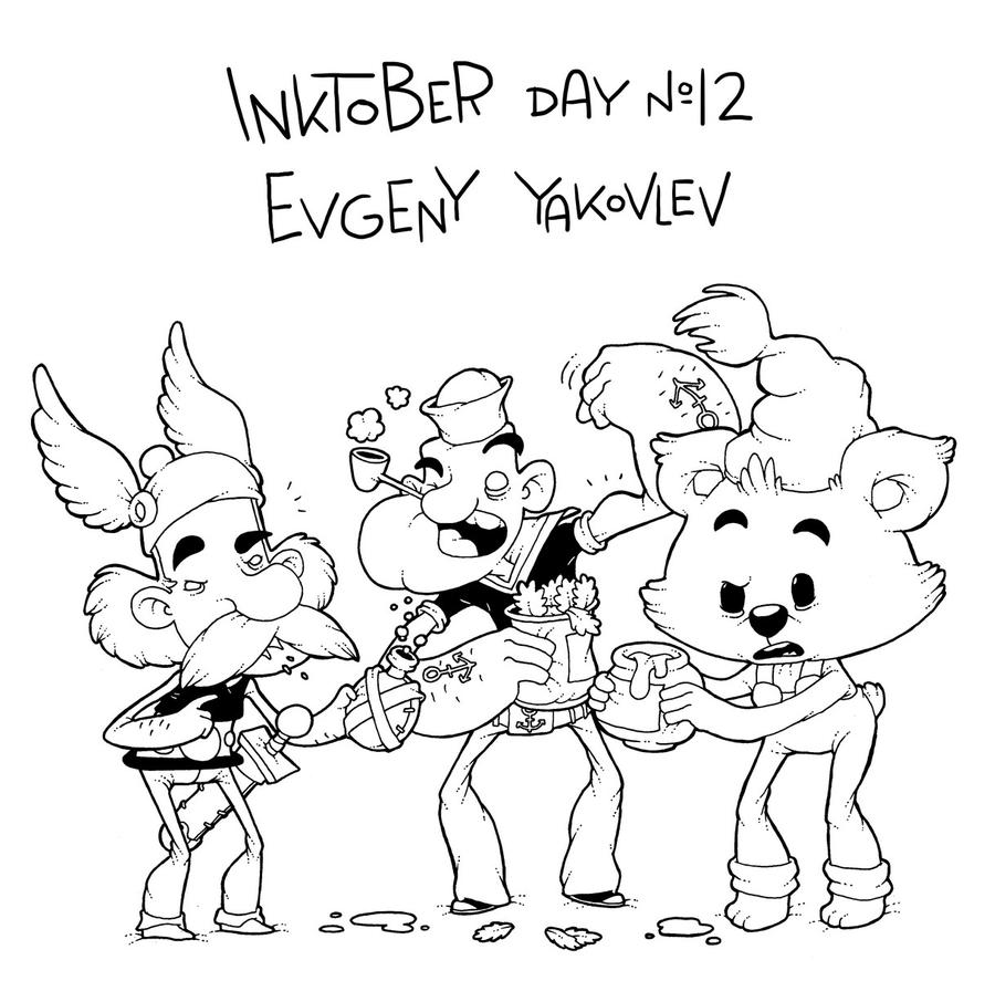 InkTober Day #12 by lost-angel-less