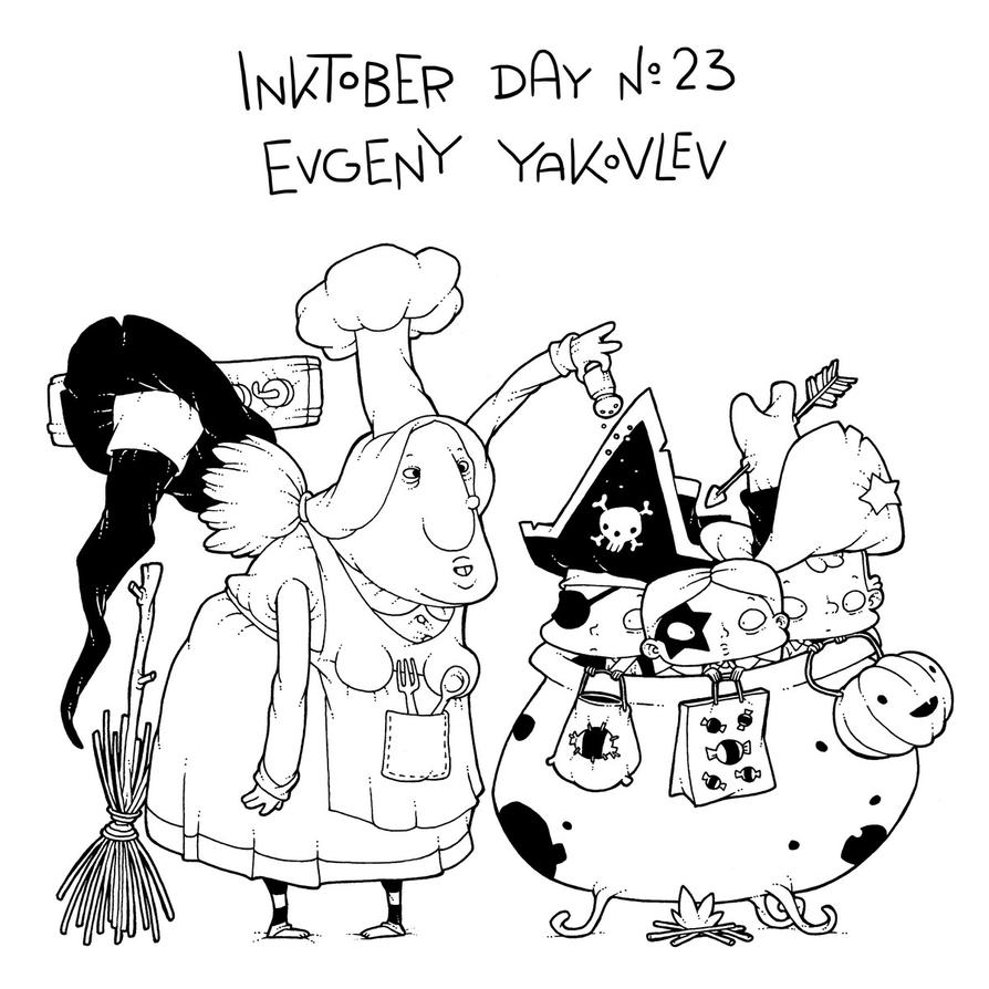 InkTober Day #23 by lost-angel-less
