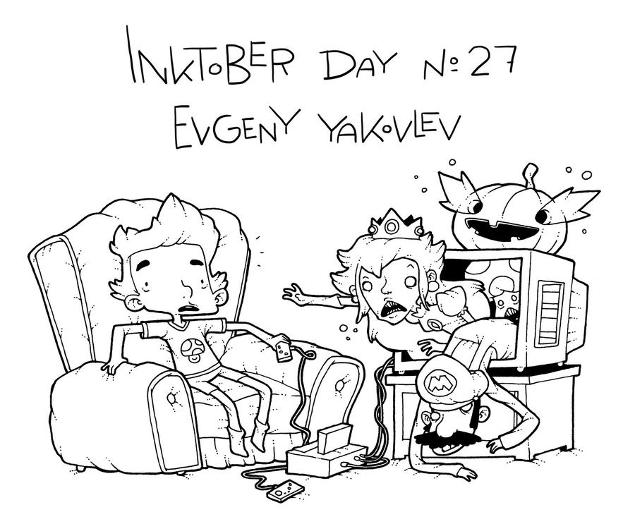 InkTober Day #27 by lost-angel-less
