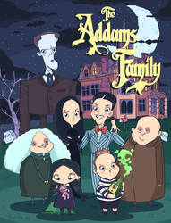 The Addams family! by lost-angel-less