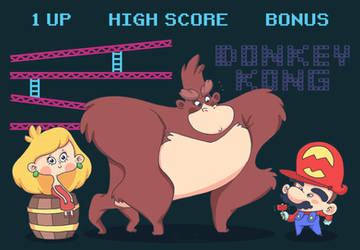 Donkey Kong! by lost-angel-less