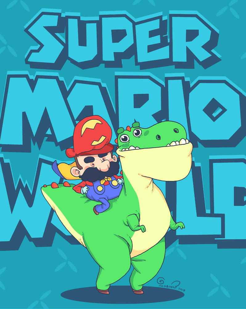 Super Mario World! by lost-angel-less