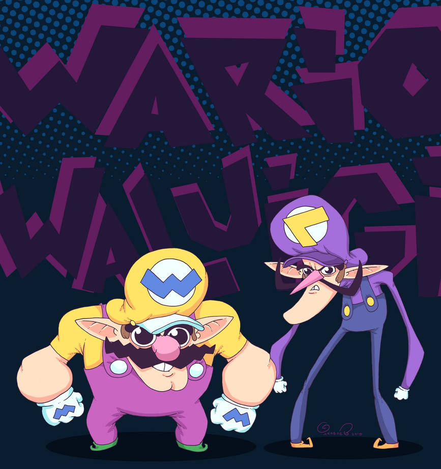 Wario and Waluigi! by lost-angel-less