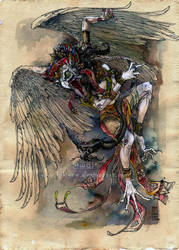 my name is Garuda by hikigane