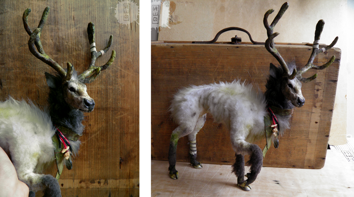 old prince - ooak deer art doll RESALE by hikigane