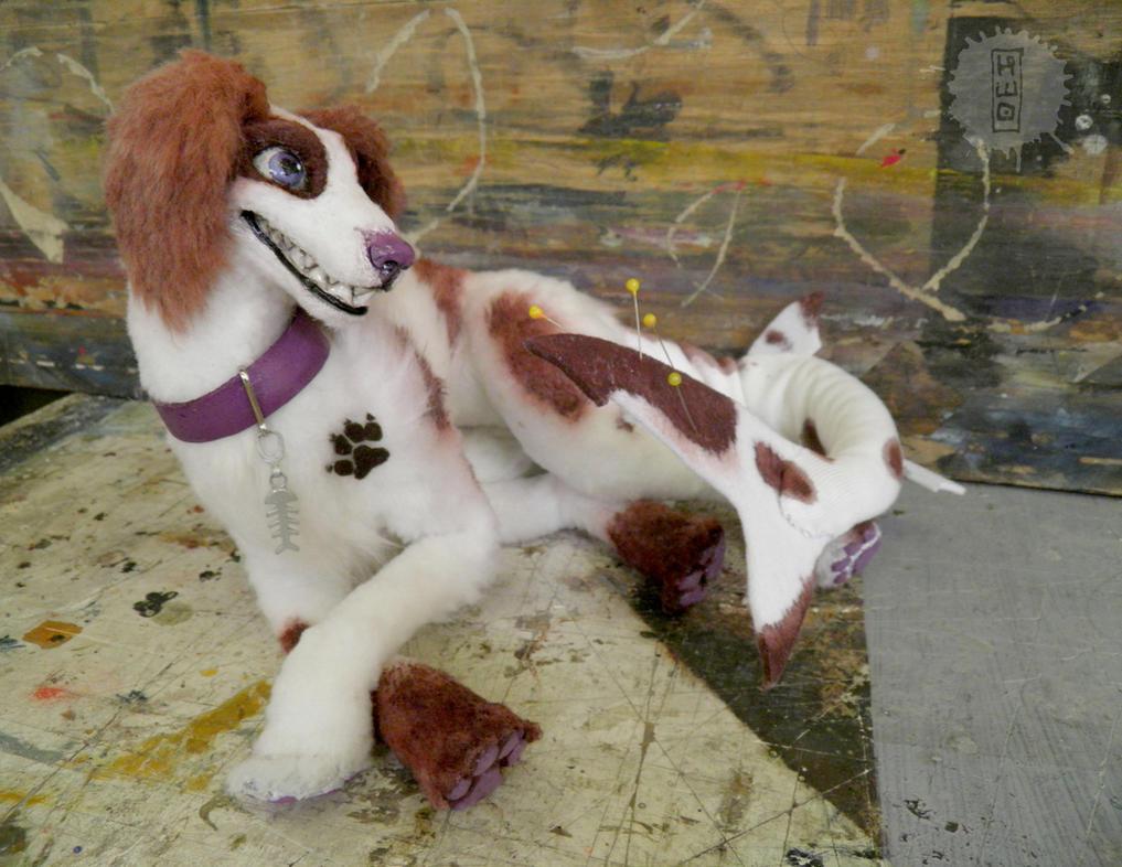 Spiz_Feral art doll by hikigane