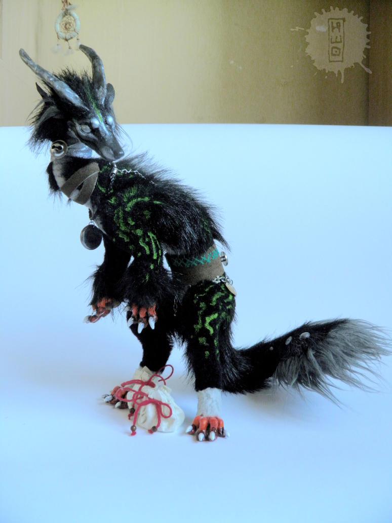 Silver Eye - Lucky Dragon art doll 1 by hikigane
