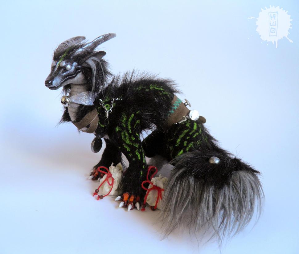 Silver Eye - Lucky Dragon art doll 4 by hikigane
