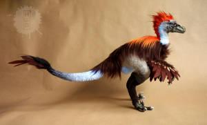Raptor posable OOAK art doll by hikigane