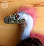 Raptor art doll WIP